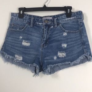 Free People Distressed Short sz 28